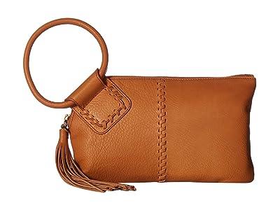 Hobo Sable (Whiskey) Clutch Handbags