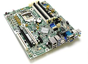 HP 657094-001 Genuine OEM Compaq Elite 8300 6300 Pro Small Form Factor SFF Desktop Intel Motherboard 8000 Series 3.0 USB Internet RJ-45 VGA Audio Display Port PCIE 657094-501 657094-601 657239-501