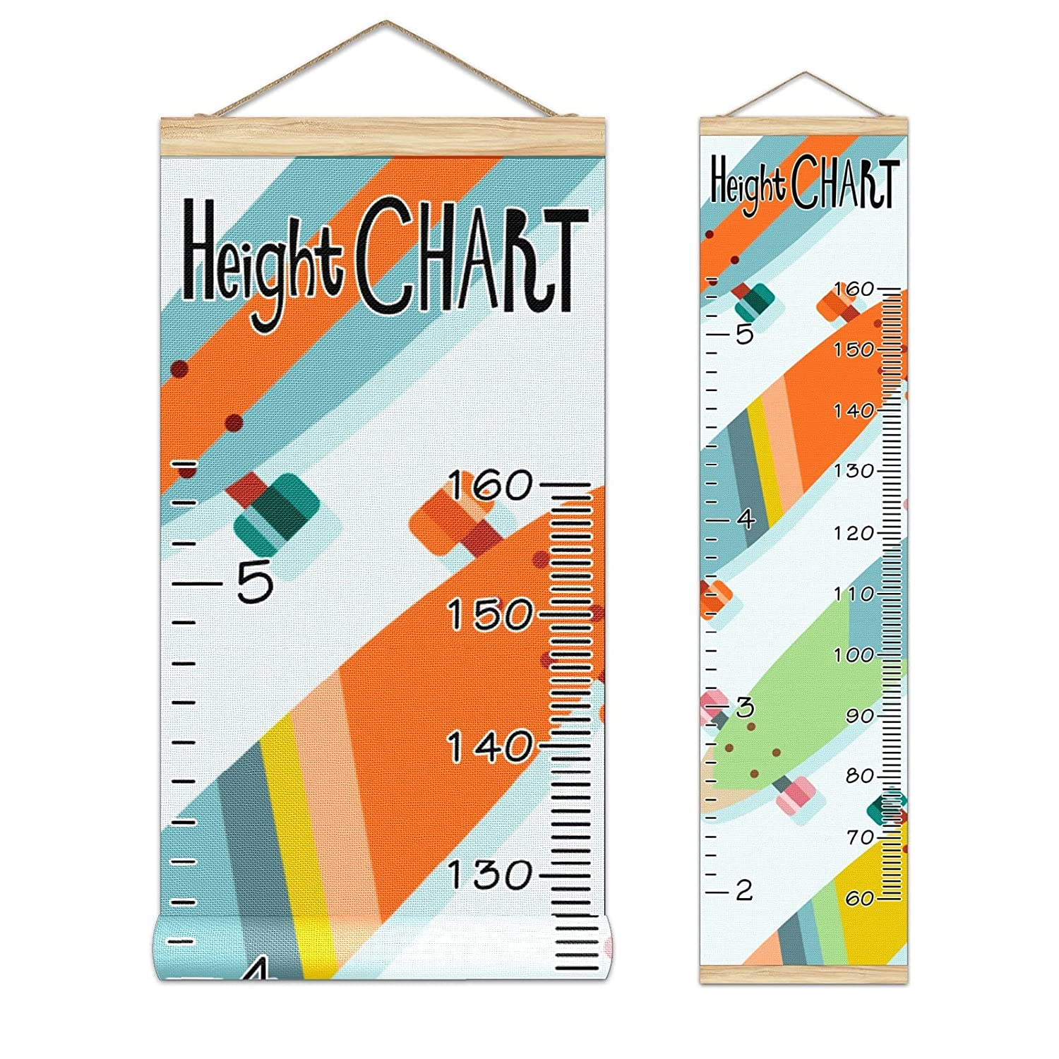 Be super welcome Kids Growth Chart Ruler for Measure Height Frame Super intense SALE Wood Wall
