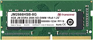 TRANSCEND 8GB DDR4 2666Mhz SO-DIMM Memory Module for Laptop