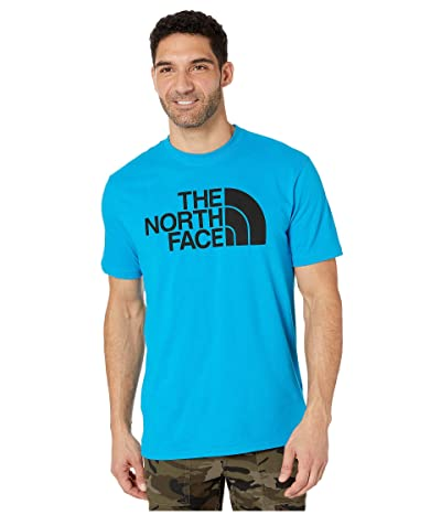 The North Face Short Sleeve Half Dome T-Shirt (Acoustic Blue) Men