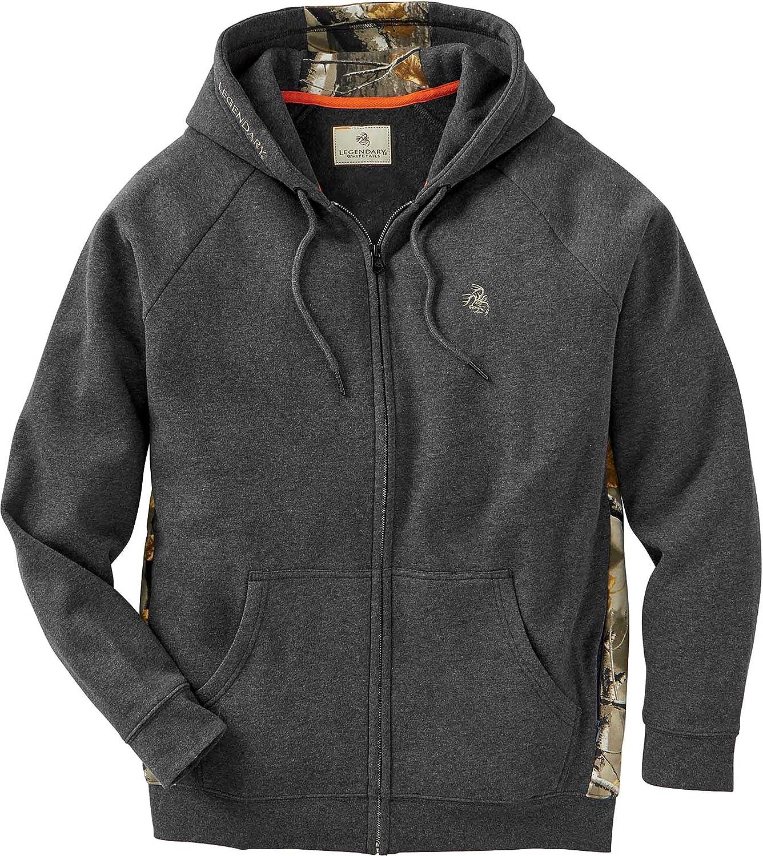 Legendary Whitetails Men's Outfitter Full Zip Fleece Sweatshirt