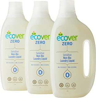 ECOVER Bundle - Zero Laundry Liquid, 1.5L (Pack of 3)