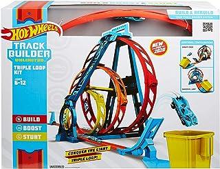 Hot Wheels GLC96 Track Builder Unlimited Looping set, Drievoudig, Meerkleurig, 50 cm - Standard Packaging