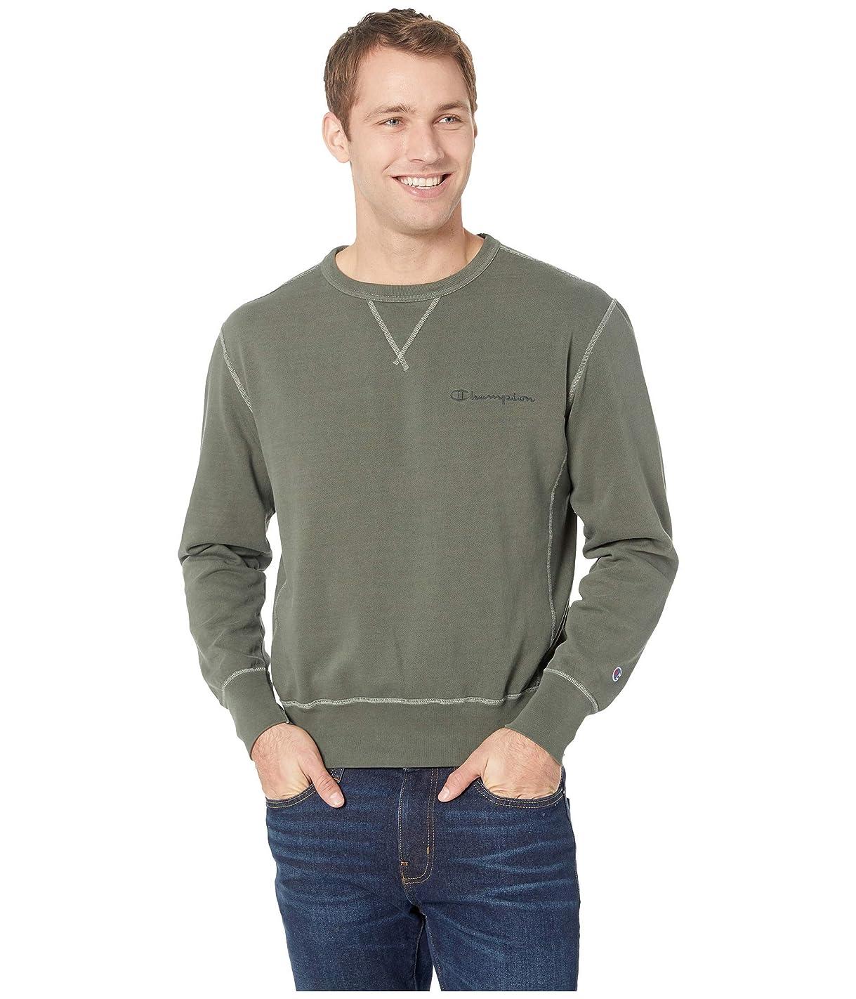 批判的に欠乏着る[チャンピオン] メンズ パーカー?スウェットシャツ Vintage Dye Fleece Crew - 549295 [並行輸入品]