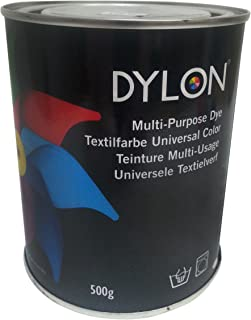 Dylon Multi – Purpose Tie Dye Used by Top Designers, Movie Studios, Stars, Suitable for Natural Fabrics, Permanent & Easy to Apply, Color: Reindeer Beige, Size: 500 Grams - Perfect Holiday Gift
