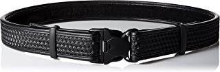 BLACKHAWK! Black Reinforced 2-Inch Basketweave Web Duty Belt with Loop Inner - Large