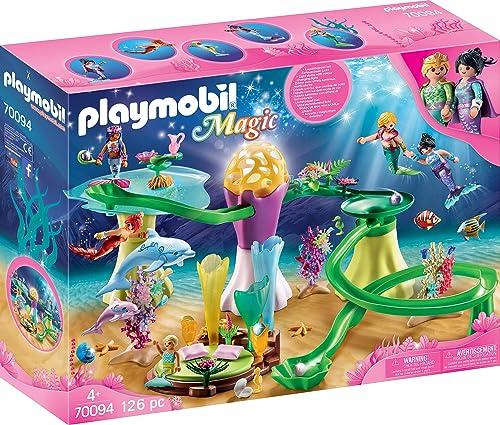 la red entera más baja Playmobil 70094Magic Coral Carpa con con con Bombilla cúpula  Compra calidad 100% autentica