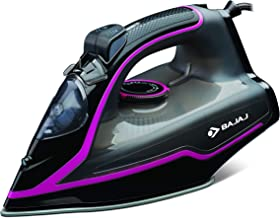 Bajaj MX-35N 2000W Steam Iron with Steam Burst, Anti-Drip and Anti-Scale Technology, Vertical and Horizontal Ironing, Non-...