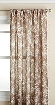 لوحة نافذة أوليفيا كورتيس من لوري هوم فاشونز، 132.08 سم × 213.36 سم، لون بني