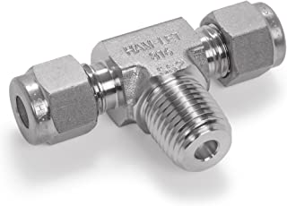 Adapter Ham-Let Stainless Steel 316 Let-Lok Compression Fitting 1 NPT Male x Tube Stub