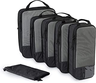 (バッグスマート)BAGSMART 圧縮トラベルポーチ 衣類収納ケース アレンジケース 出張ケース 大容量 旅行ケース 整理整頓 便利グッズ トラベルケース