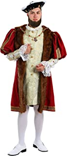 Adult Henry The VIII Costume Plus Size English King Costume