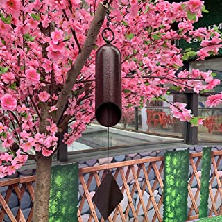 Agirlgle Large Wind Bell Wind Chimes Outdoor Indoor HWMC Heroic Windbell, 24-Inch Garden Wind Chimes Amazing Grace for Pat...