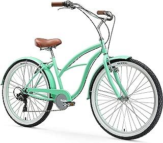 "sixthreezero Women's Beach Cruiser Bicycle, 26"" Wheels/17 Frame"