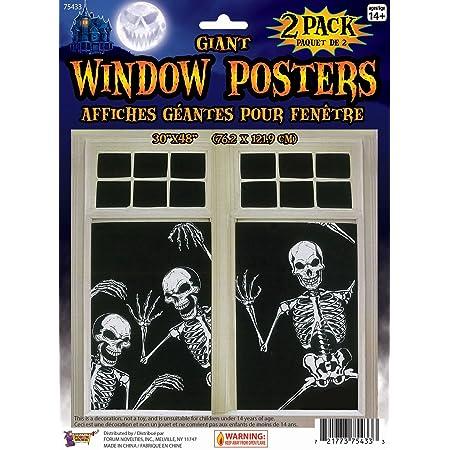 Window Color Fensterbild Fenstersticker abl\u00f6sbar Halloween Gespenster 179 Glasmalerei Fensterdekoration Glasdekoration