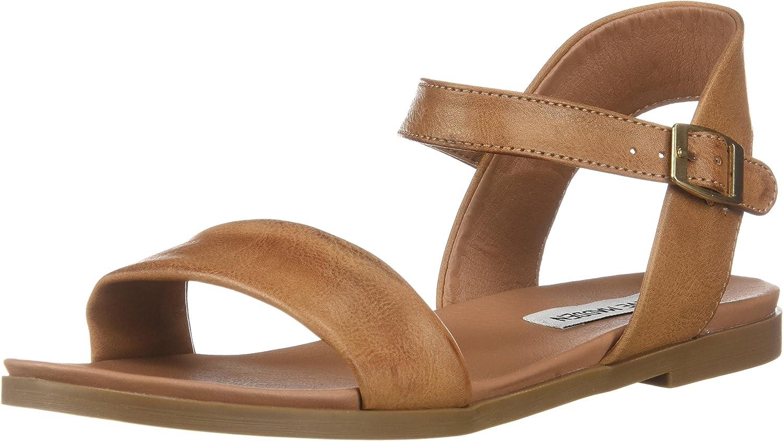 Steve Madden Womens Daelyn Flat Sandals