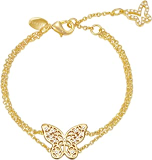 ESPRIT Women Cubic Zirconia Prosperous Flora Bracelets