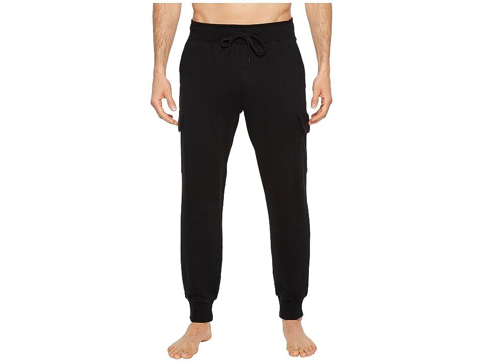 2(X)IST Core Bottoms Cargo Sweatpants (Black) Men