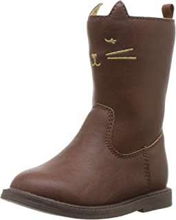 Carter's Kids Girl's Pity3 Brown Novelty Riding Boot Fashion