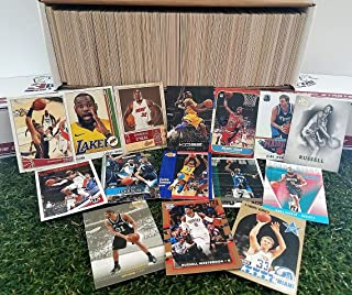 600 card Jumbo lot of Basketball cards Starter kit with Guaranteed Superstars - 1980`s to present. Comes in Custom Souvenir box. Great Gift for 1st time collectors! Thank you Over 5,200 SOLD by 3bros