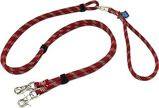 ドッグ・ギア ザイルリードタイプW ロープ径8mm 全長130cm ブリックレッド 「大切な愛犬を迷子犬にしないためのリードです」