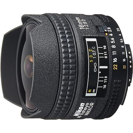 Nikon フィッシュアイレンズ Ai AF fisheye Nikkor 16mm f/2.8D フルサイズ対応