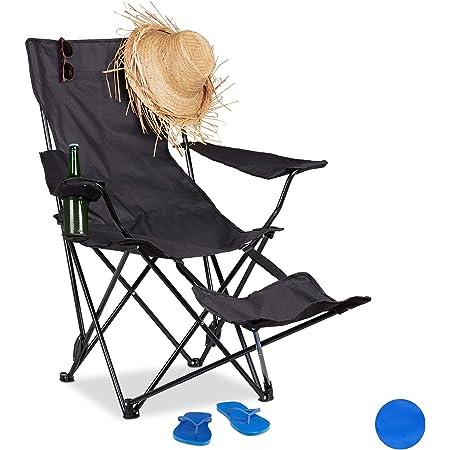 Barbecue p/êche etc avec Sac de Transport pour activit/és de Plein air Bleu ciele Plage Pio.man Chaise de Camping Ultra l/ég/ère Pliable Camping Robuste avec Une capacit/é de 150 kg randonn/ée