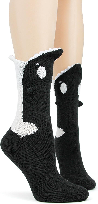 Foot Traffic - Women's 3D Socks, Fits Women's shoes Sizes 4-10