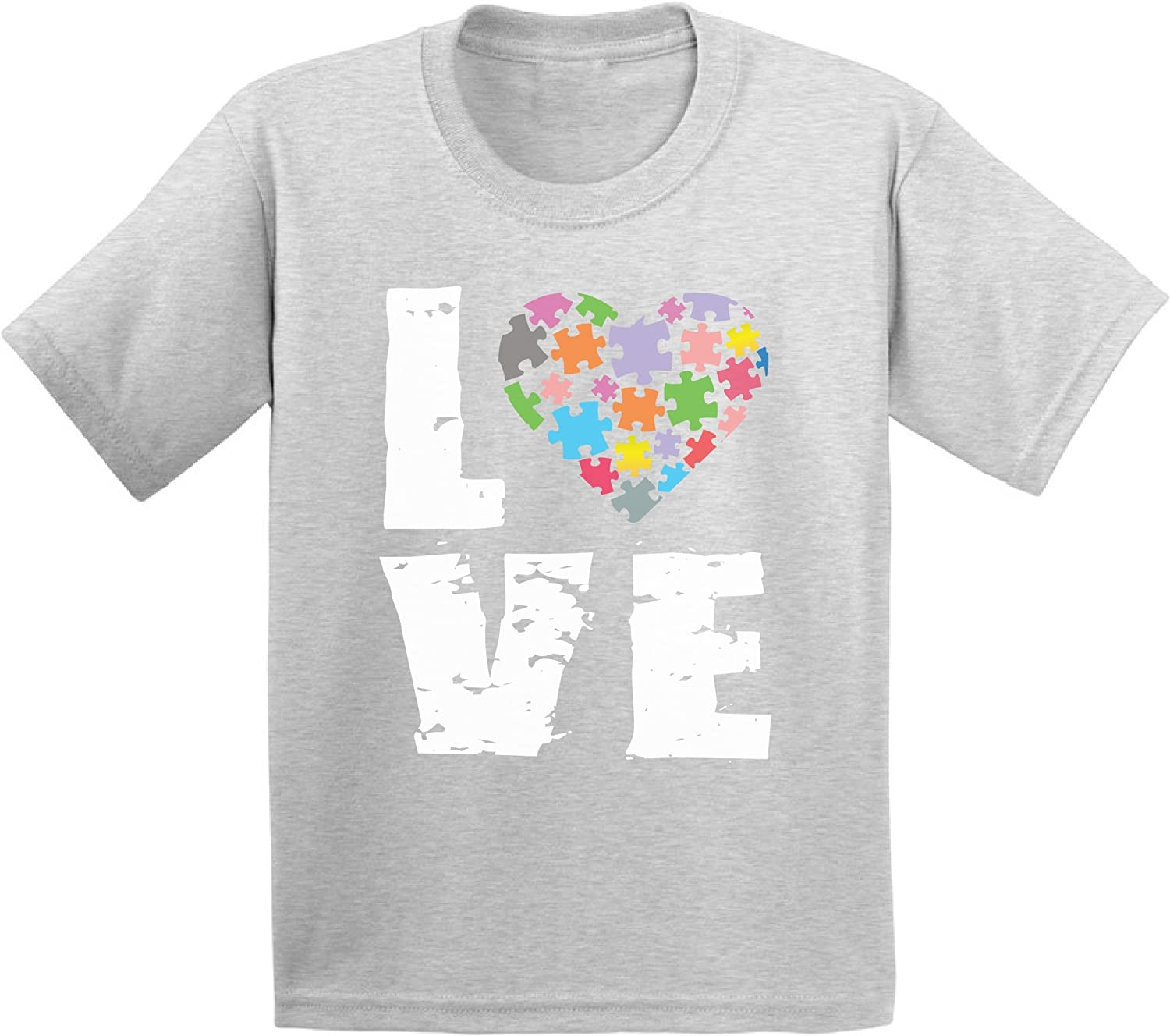 Awkward Styles Autism Awareness Shirts for Toddlers Girl Boy Autism Shirt Puzzle