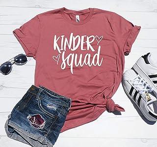 Kinder Squad - Kindergarten Teacher Shirt - Kindergarten Teacher Christmas Gift - Teacher Tee - Unisex Fit - XS-4XL Sizes - Kinder Shirt
