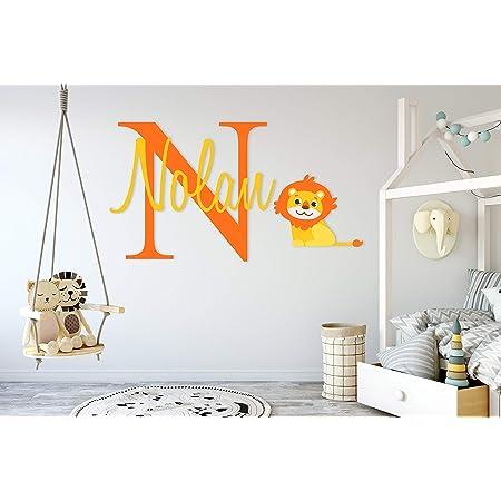 Baby blocks childrens bedroom wall art vinyl stickers for nursery boys girls