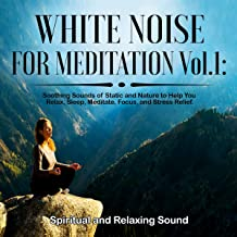 White Noise for Meditation, Vol. 1: Soothing Sounds of Static and Nature to Help You Relax, Sleep, Meditate, Focus and Str...