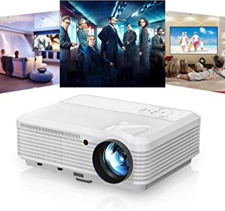 Caiwei LCD Video Projector HD 1080P Support-Factory Outlet & 1year Warranty 4600lumen/WXGA/Digital TV Projector(A7)