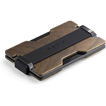 Radix Element Slim Wallet - RFID Blocking Minimalist Card Holder Money Clip