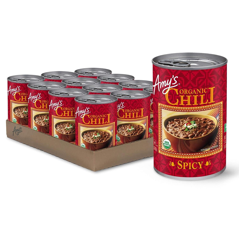 Amy's Organic Spicy Chili, USDA Organic, 14.7-Ounce