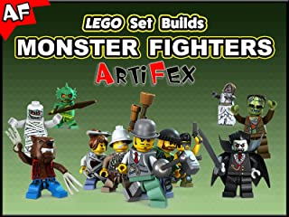 Clip: Lego Set Builds Monster Fighters - Artifex