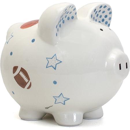 Basketball Sports Themed Ceramic Kids Piggy Bank Bedroom Decor