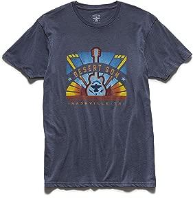 x Dierks Bentley - Vintage Style Heather Graphic Tee Shirt, XL, Nashville Stage Navy