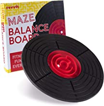 Maze Balance Board - Labyrinth Wobble Game for The Whole Family - Kids, Teens & Adults Fitness Exercise Toy