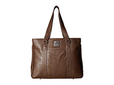 Kenneth Cole Reaction Casual Fling 15.0 Computer Tote (Brown) Tote Handbags