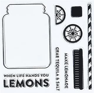 Hampton Art Jillibean Soup Lemonade Clear Stamp, 4