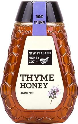 New Zealand Honey Co. Raw Wild Thyme Honey   Squeezy   12.3oz / 350g
