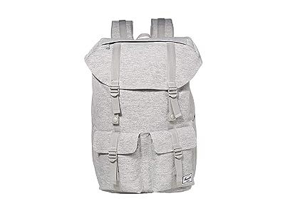 Herschel Supply Co. Buckingham (Light Grey Crosshatch) Backpack Bags