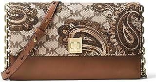 dca25d3719c5 MICHAEL Michael Kors KORS STUDIO Paisley Natalie XL Wallet On A Chain