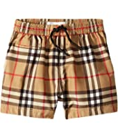 Burberry Kids - Galvin Check SwimTrunks (Infant/Toddler)