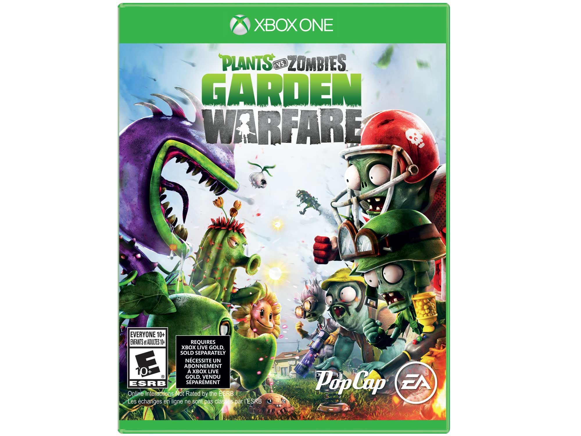 Electronic Arts Plants vs. Zombies Garden Warfare Xbox One - Juego (Xbox One, Acción, E10 + (Everyone 10 +), ENG, Básico, Electronic Arts): Amazon.es: Videojuegos