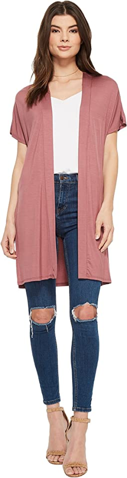 American Rose - Hensley Short Sleeve Cardigan