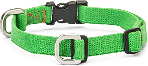 discount West Paw Strolls popular Dog Collar with Hemp, popular Small, Greenery, Made in USA outlet online sale