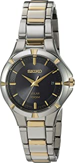 Women's Solar Two Tone with Black Dial
